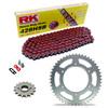 Sprockets & Chain Kit RK 428SB Red HYOSUNG GT 125 R Supersport 06-14