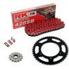 Sprockets & Chain Kit RK 428SB Red KAWASAKI KDX 150 14-15