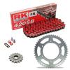 Sprockets & Chain Kit RK 420SB Red KAWASAKI KX 80 89-90