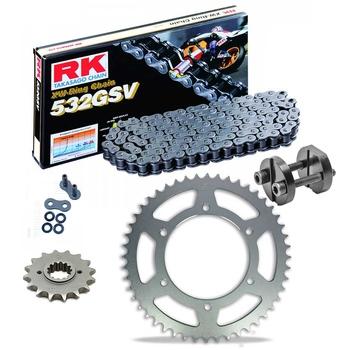 Sprockets & Chain Kit RK 532 GSV YAMAHA GTS 1000 93-00