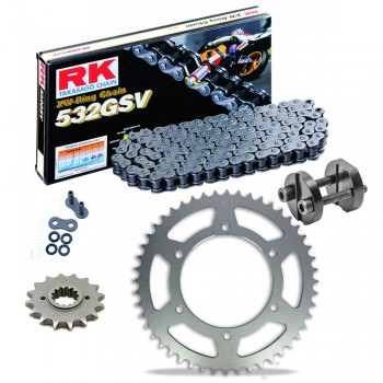 Sprockets & Chain Kit RK 532 GSV YAMAHA ThunderAce 1000 YZFR 4VF 4SV 00-02