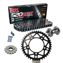 KIT DE ARRASTRE APRILIA RSV4 1000 R APRC Conversion 520 Ultralight 11-15 Reforzado Hypersport
