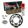 KIT DE ARRASTRE RK 520 ZXW ORO APRILIA RSV4 1000 R APRC Conversion 520 Ultralight 11-15