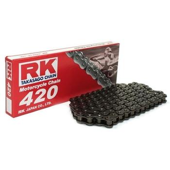 CADENA RK 420 SB GRIS ACERO ENGANCHE CLIP SIN RETEN