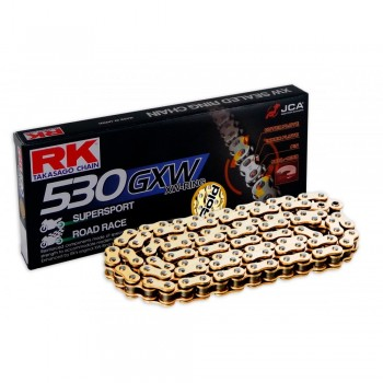 RK CHAIN 530 GXW GOLD WITH XW RING