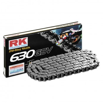 RK CHAIN 630 GSV STEEL GREY WITH XW RING