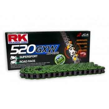 CADENA RK 520 GXW VERDE X-RING