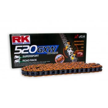 CADENA RK 520 GXW NARANJA X-RING