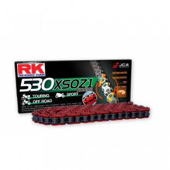 CADENA RK 530 XSOZ1 ROJA X-RING