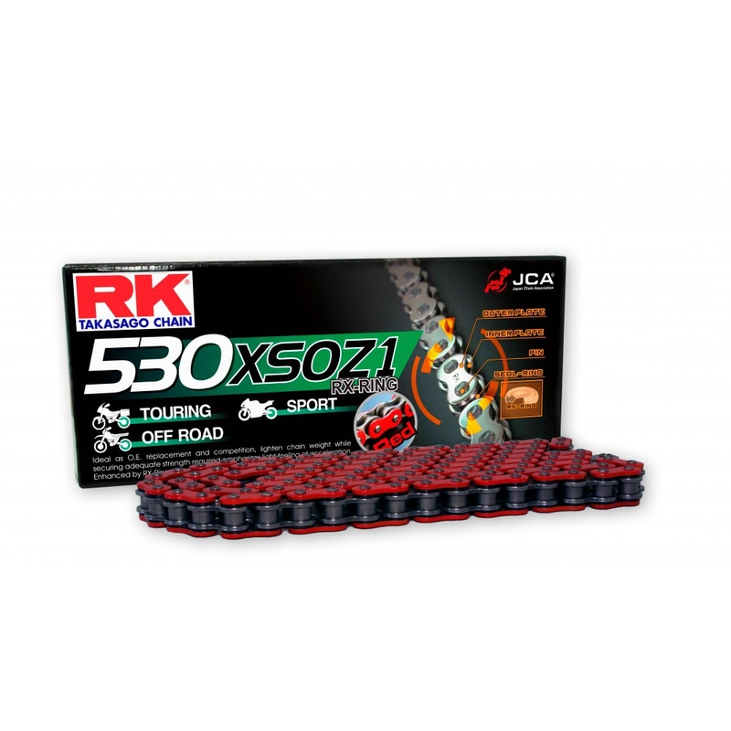 RK 530 XSOZ1 X-RING RED