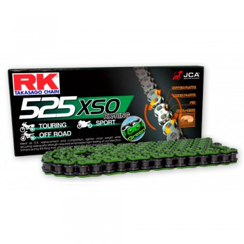 CADENA RK 525 XSO VERDE X-RING