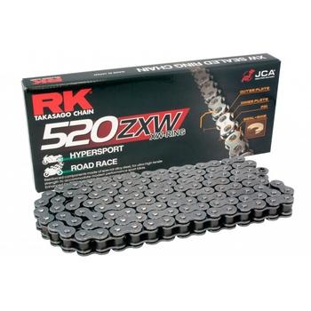 CADENA RK 520 ZXW GRIS ACERO X-RING HYPERSPORT