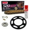 KIT DE ARRASTRE RK 520 EXW ORO APRILIA Pegaso 650 Cube 00 Remachadora Gratis
