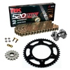 Sprockets & Chain Kit RK 520 ZXW Gold DUCATI 851 SP 90 Free Riveter