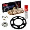 Sprockets & Chain Kit RK 520 GXW Gold DUCATI Monster 620 Dark MD 04