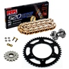 Sprockets & Chain Kit RK 520 GXW Gold DUCATI Monster 695 07-08 Free Rivet Tool!