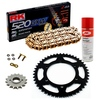 Sprockets & Chain Kit RK 520 GXW Gold DUCATI Monster 695 07-08