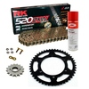 Sprockets & Chain Kit RK 520 ZXW Gold DUCATI Paso 906 Sport 90-93