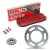 Sprockets & Chain Kit RK 420SB Red HONDA CR 80 86-95