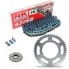 Sprockets & Chain Kit RK 420SB Blue HONDA XR 80 79-84