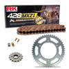 Sprockets & Chain Kit RK 428 MXZ Gold HONDA CR 85 03-04
