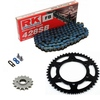 Sprockets & Chain Kit RK 428SB Blue HONDA TRX X 90 13-15