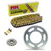 Sprockets & Chain Kit RK 428SB Yellow HONDA XL 100 81-83