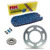 Sprockets & Chain Kit RK 428SB Blue HONDA XL 100 81-83