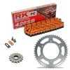 Sprockets & Chain Kit RK 428SB Orange HONDA XL 100 81-83