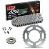Sprockets & Chain Kit RK 428 XSO Steel Black HONDA XL 100 81-83