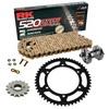 Sprockets & Chain Kit RK 520 ZXW Gold HONDA CBR 600  F PC35 Conversion 520 99-00 Free Riveter