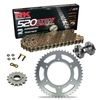 Sprockets & Chain Kit RK 520 ZXW Gold HONDA CBR 600 F OC35 Conversion 520 01 Free Riveter