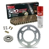 Sprockets & Chain Kit RK 520 ZXW Gold HONDA CBR 600 F OC35 Conversion 520 01