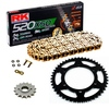 Sprockets & Chain Kit RK 520 XSO Gold HONDA XR 250 96-04