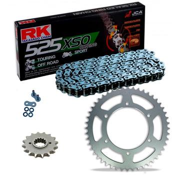 Sprockets & Chain Kit RK 525 XSO Steel Grey HONDA Transalp 600 88-90