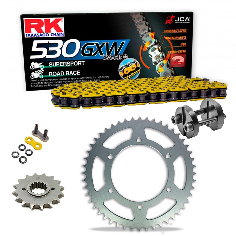 RK Racing Chain 520EXW-90 90-Links XW-Ring Chain with Connecting Link