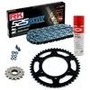 Sprockets & Chain Kit RK 525 GXW Grey Steel YAMAHA MT 07 TRACER 20