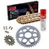 Sprockets & Chain Kit RK 525 GXW Gold DUCATI STREETFIGHTER 1100 V4 20