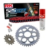Sprockets & Chain Kit RK 525 GXW Red DUCATI STREETFIGHTER 1100 V4 20