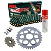 Sprockets & Chain Kit RK 525 ZXW Black/Gold DUCATI STREETFIGHTER 1100 V4 20