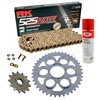 Sprockets & Chain Kit RK 525 ZXW Gold DUCATI STREETFIGHTER 1100 V4 20