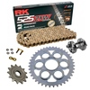 Sprockets & Chain Kit RK 525 ZXW Gold DUCATI STREETFIGHTER 1100 V4 20 Free Rivet Tool!