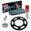 KIT DE ARRASTRE RK 520 GXW Reforzado GRIS ACERO KTM DUKE 890 20