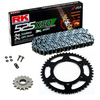 Sprockets & Chain Kit RK 525 XSO Steel Grey YAMAHA MT 07 TRACER 16-19