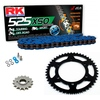 Sprockets & Chain Kit RK 525 XSO Blue YAMAHA MT 07 TRACER 16-19