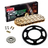 Sprockets & Chain Kit RK 525 XSO Gold  YAMAHA MT 07 TRACER 16-19