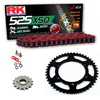 Sprockets & Chain Kit RK 525 XSO Red YAMAHA MT 07 TRACER 16-19