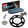 KIT DE ARRASTRE RK 520 GXW Reforzado GRIS ACERO KTM Enduro 690 R 08-17 Remachadora Gratis!