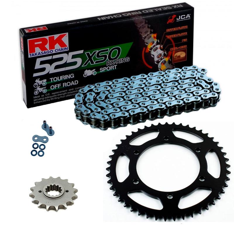 Sprockets & Chain Kit RK 525 XSO Steel Grey KTM Super Duke R 1290 16-19