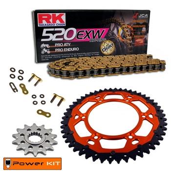 KIT DE ARRASTRE RK KTM 150 SX 08-21 Reforzado Premium Off Road